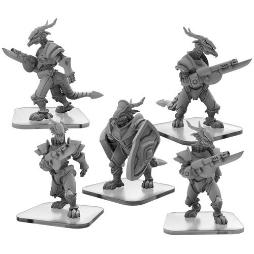 Monsterpocalypse: Drakon Armada Fusiliers and Warder Unit (51102)