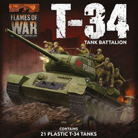 Flames of War Late War: Soviet LW T-34 Army Deal (SUAB12)