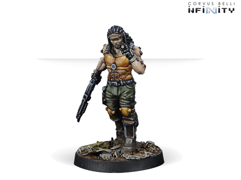 Infinity: Mercenaries Joe `Scarface` Turner, Mercenary Tag Pilot