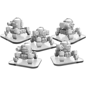Monsterpocalypse: Zerkalo Bloc WW82s and Propo Walker Unit (51107)