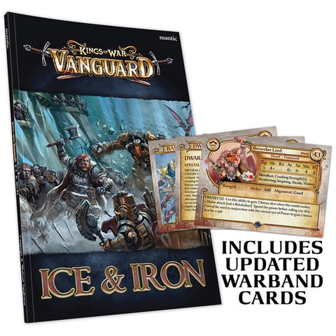 Kings of War Vanguard: Ice and Iron Book