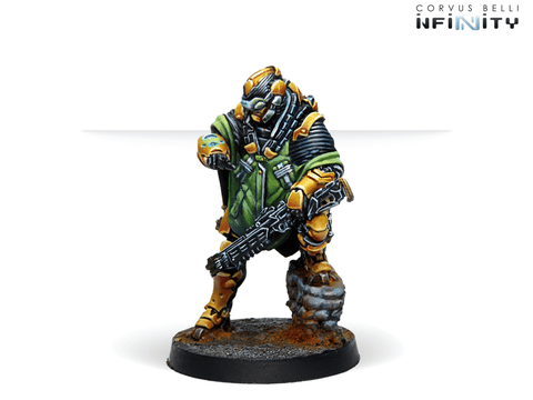 Infinity: Yu Jing: Zhencha, Armored Recon Regiment (Hacker) (28307)