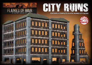 Battlefield in a Box: Ruined City Building (BB300)
