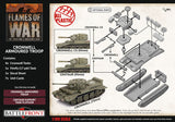Flames of War: Late War: British Cromwell Armored Troop (BBX57)