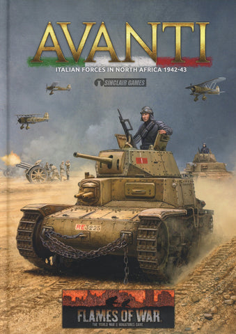 Flames of War: Mid War: Italian: Avanti Army Book (FW244)