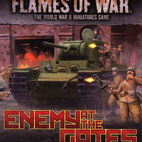 Flames of War: Mid War: Soviet: Enemy at the Gate Command Cards (FW246C)
