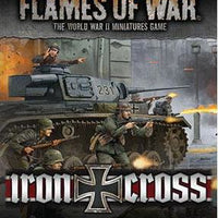 Flames of War: Mid War: German: Iron Cross Command Cards (FW247C)