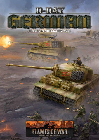 Flames of War: Late War: German: D-Day Book (FW263)