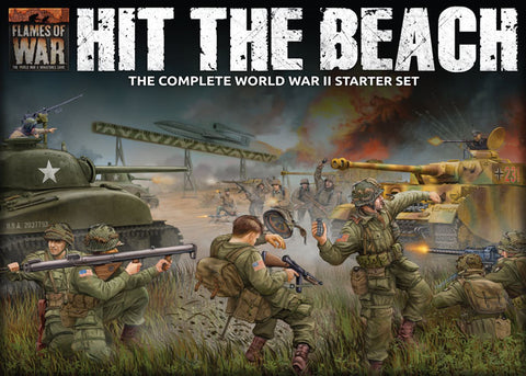 Flames of War: Late War: Hit the Beach Starter Set (FWBX09)