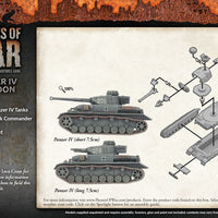 Flames of War: Mid War: German Panzer IV Platoon (GBX106)
