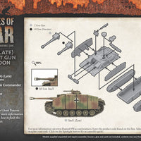 Flames of War: Mid War: German: StuG (Late) Assault Gun Platoon (GBX123)