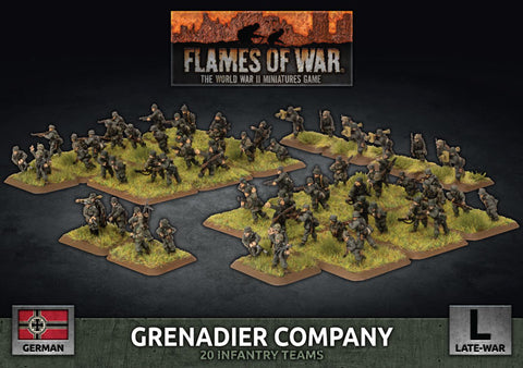 Flames of War: Late War: German: Grenadier Company (GBX170)