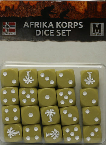 Flames of War: German: Afrika Korps Dice Set (GE900)