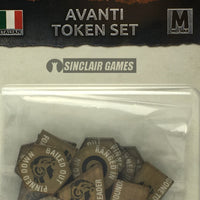 Flames of War: Mid War: Italian: Avanti Token Set (IT901)
