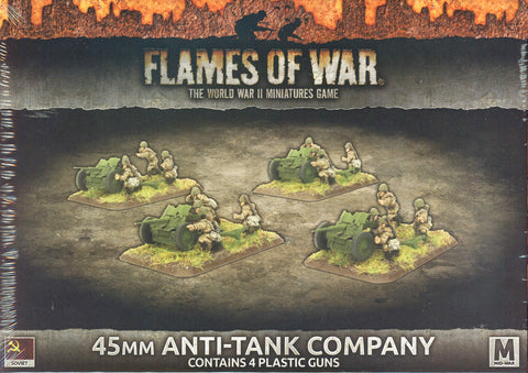 Flames of War: Mid War: Soviet: 45mm Anti Tank Company (SBX47)