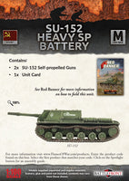 Flames of War: Mid War: Soviet: SU-152 Heavy SP Battery (SBX59)