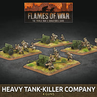 Flames of War Late War: Soviet Heavy Tank-Killer Company (SBX71)