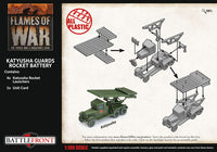 Flames of War Late War: Soviet Katyusha Guards Rocket Battery (SBX74)