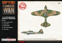 Flames of War Late War: Soviet IL-2 Shturmovik Assault Company (SBX77)