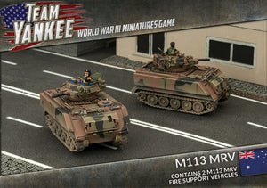 Team Yankee: Austalian: M113 MRV Fire Support Vehicles (TABX01)