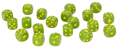 Team Yankee: Austalian: Dice Set (TAU900)