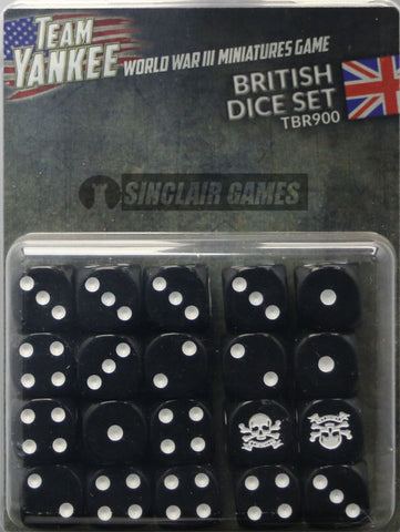 Team Yankee: British: Dice (TBR900)