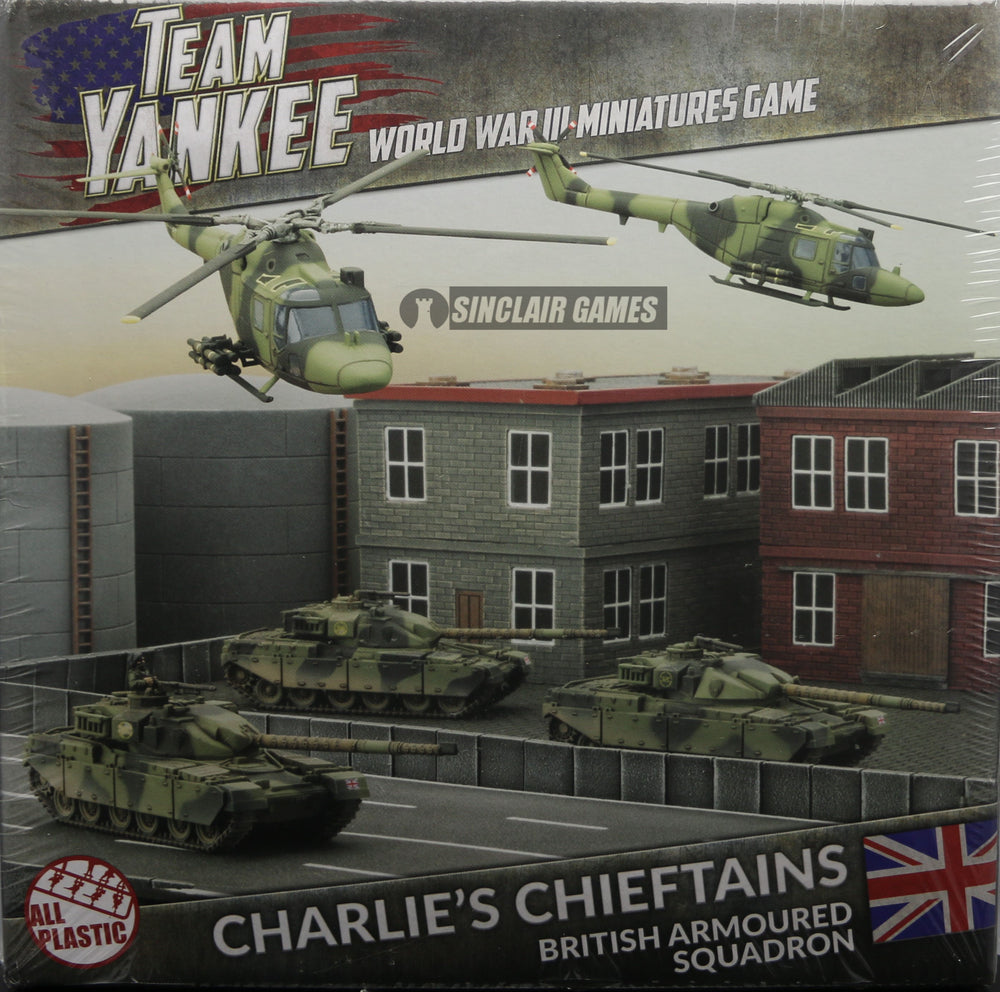 Team Yankee: British: Charlies Chieftains Starter Army (TBRAB2)