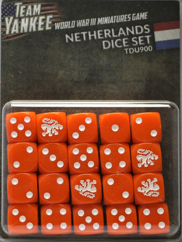Team Yankee: Dutch: Dice Set (TDU900)