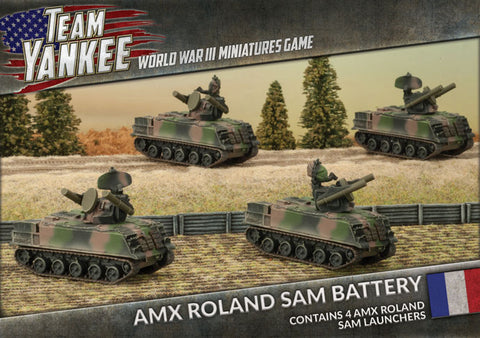 Team Yankee: French: AMX Roland SAM Battery (TFBX06)