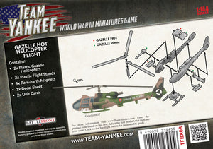 Team Yankee: French: Gazelle HOT Helicopter Flight (TFBX08)