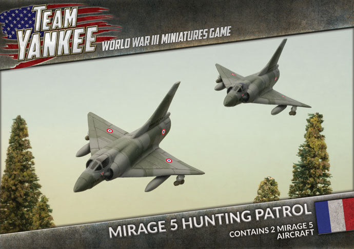 Team Yankee: French: Mirage 5 Hunting Patrol (TFBX09)