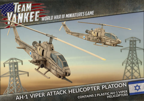 Team Yankee: Oil War: Israel: AH-1 Cobra (Viper) Attack Helicopter Platoon TIBX09)