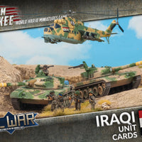 Team Yankee: Oil War: Iraq: Unit Cards (TIQ901)