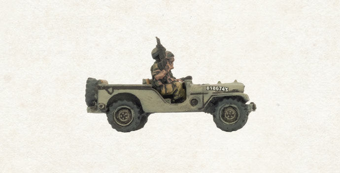 Team Yankee: Oil War: Israel: Recce Jeep Platoon (TIS121)