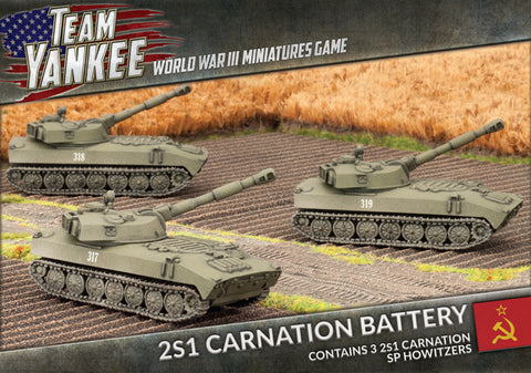 Team Yankee: Soviet: 2S1 Carnation Artillery Battery (TSBX07)