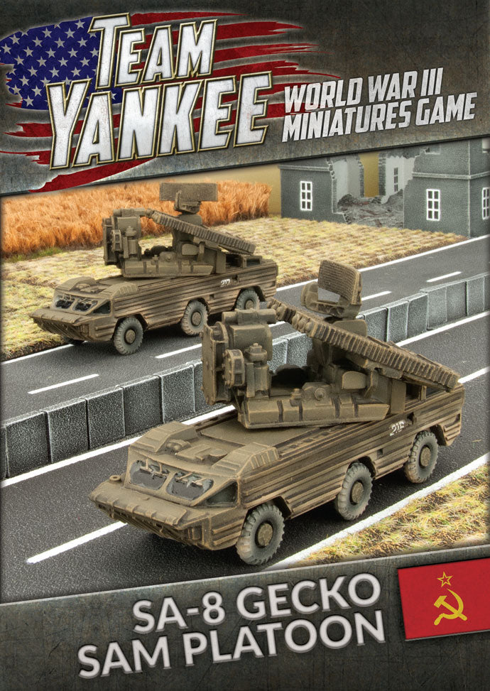 Team Yankee: Soviet: SA-8 Gecko SAM Battery (TSBX16)