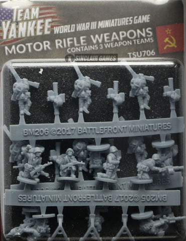Team Yankee: Soviet: Rifle Heavy Weapons (TSU706)