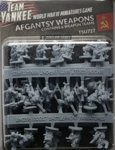 Team Yankee: Soviet: Afgantsy Heavy Weapons (TSU727)