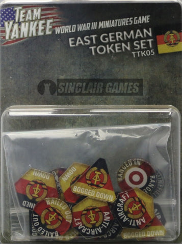 Team Yankee: East German: Tokens (TTK05)