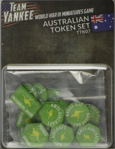 Team Yankee: Australian: Token Set (TTK07)
