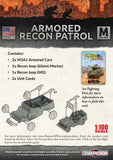 Flames of War: Mid War: United States: Armored Recon Platoon (UBX59)
