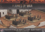Flames of War: Mid War: United States: 105mm Field Artillery Battery (UBX60)