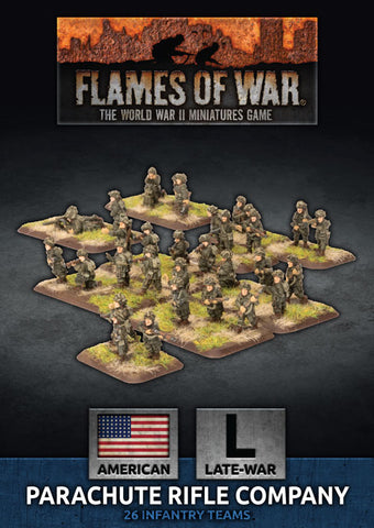 Flames of War: Late War: United States: Parachute Rifle Company (UBX64)