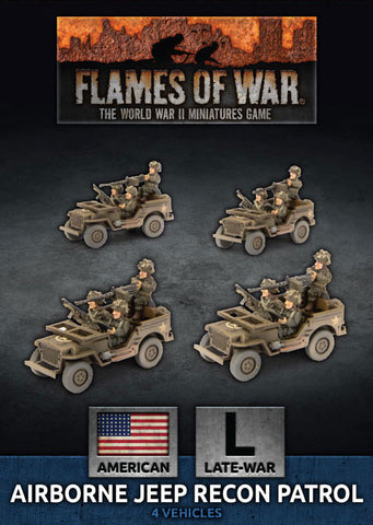 Flames of War: Late War: United States: Airborne Recon Section (UBX65)