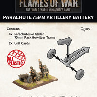 Flames of War: Late War: United States: Parachute 75mm Artillery Battery (UBX66)