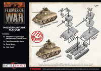 Flames of War: Late War: United States: M4 Sherman Tank Platoon (UBX69)