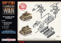 Flames of War: Late War: United States: M5 Stuart/M8 Scott Light Tank Platoon (UBX70)