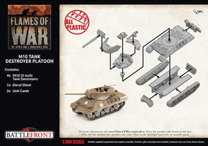 Flames of War: Late War: United States: M10 3-Inch Tank Destroyer Platoon (UBX72)