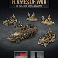 Flames of War: Late War: United States: Armored Rifle Company HQ (UBX74)