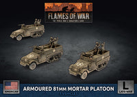 Flames of War: Late War: United States: M4 81mm Armored Mortar Platoon (UBX78)